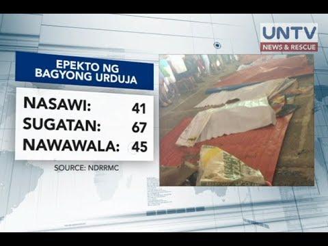 41 patay; 45 nawawala sa pananalasa ng bagyong Urduja sa Eastern Visayas – NDRRMC