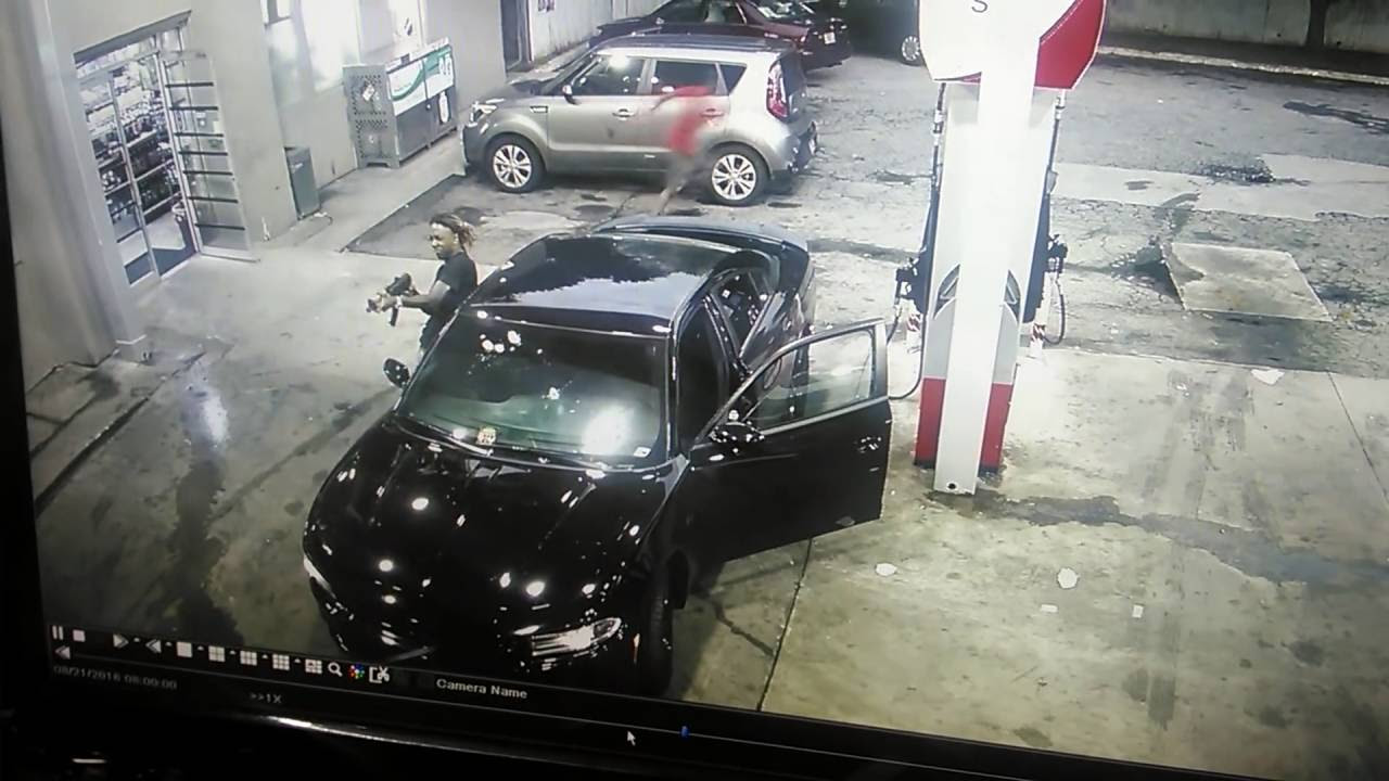 Shootout Gas Station - Atlanta - AK Pistol - Full Version Unedited - Self Defense