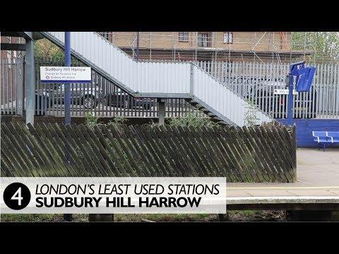 London's Least Used Station 4 - Sudbury Hill Harrow