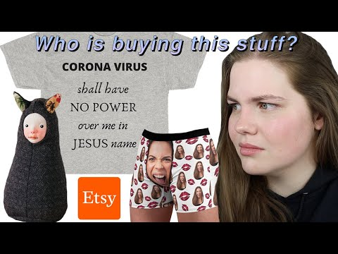 Exploring The Weird World Of Etsy