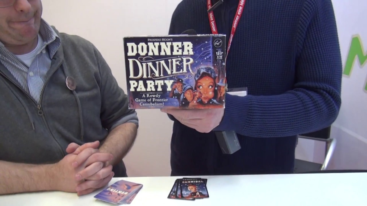 Dinner Party Game Part - 16: Donner Dinner Party U2014 Game Overview At Spielwarenmesse 2017