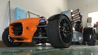 イギリスからスーパー7を買ってみた!ZZR1400エンジン載せてみた!Part1 I bought Super 7 from the UK! ZZR1400 engine swap!Part 1 thumbnail