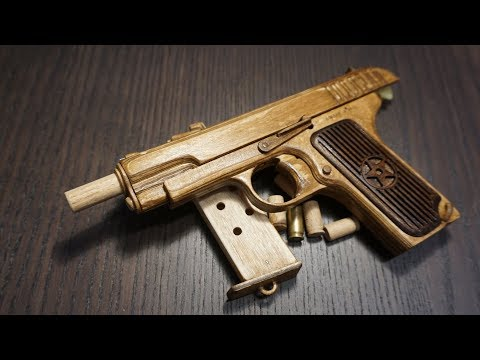Tokarev TT-33 rubberband gun with shell ejection