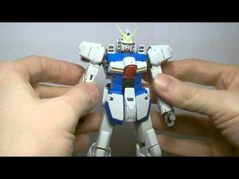 1/100 MG V Dash Gundam (Transformation/Articulation) Review Part 2