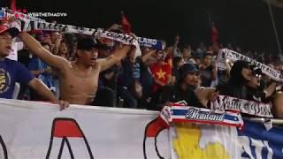 """Cổ động viên Thái Lan hô vang """"Việt Nam"""" sau trận U23 Việt Nam - U23 Thái Lan"""