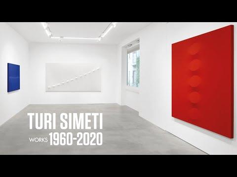 Turi SIMETI video Exhibition Opere  Dep Art Gallery Milan 2020 curated by Demetrio Paparoni