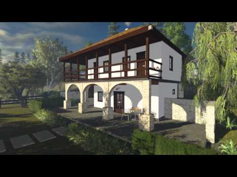 house in nature - Serbia ( HQ short version  3d animation)
