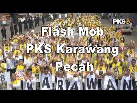 Flash Mob PKS Karawang Pecah