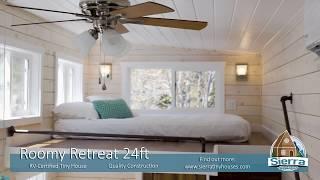 Roomy Retreat Tiny House 24 Ft