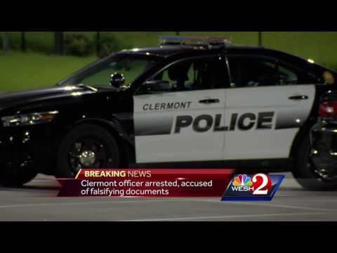 Clermont police officer arrested on perjury charges