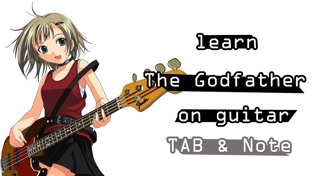 Play The Godfather On Guitar Easy Tab Youtube