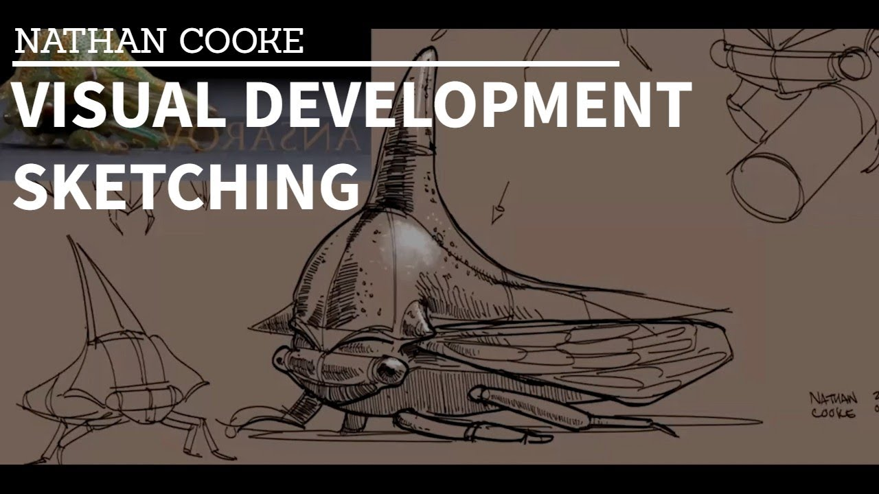 Visual Development Sketching Class - Nathan Cooke