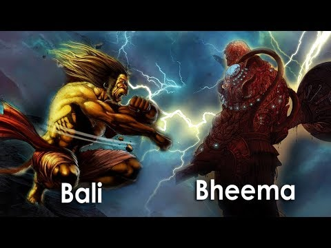 What if Bheema fought with Bali? Who would win?