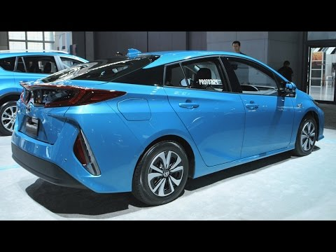 The Prius Prime's interior is like a low-cost Tesla