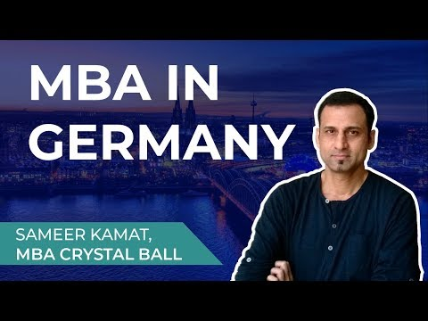 MBA In Germany For International Students