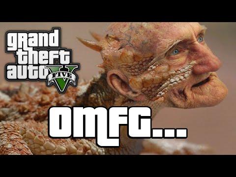 GTA V: LOCH NESS MONSTER! (GTA 5 Next Gen Funny Moments)