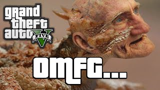 GTA V: LOCH NESS MONSTER! (GTA 5 Next Gen Funny Moments)