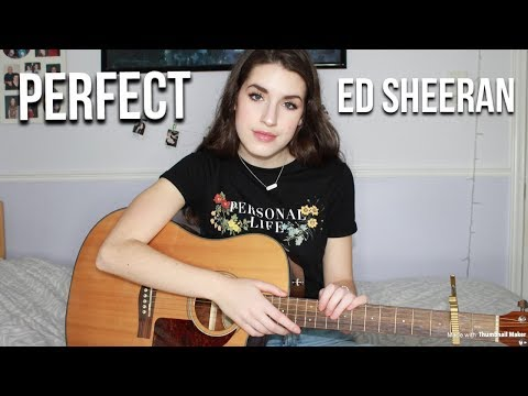 Perfect by Ed Sheeran // Cover by Sarah Carmosino