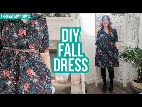 DIY FALL DRESS | Collab with Farmhouse on Boone