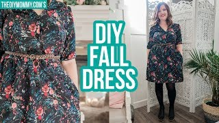 DIY FALL DRESS | Collab with Farmhouse on Boone
