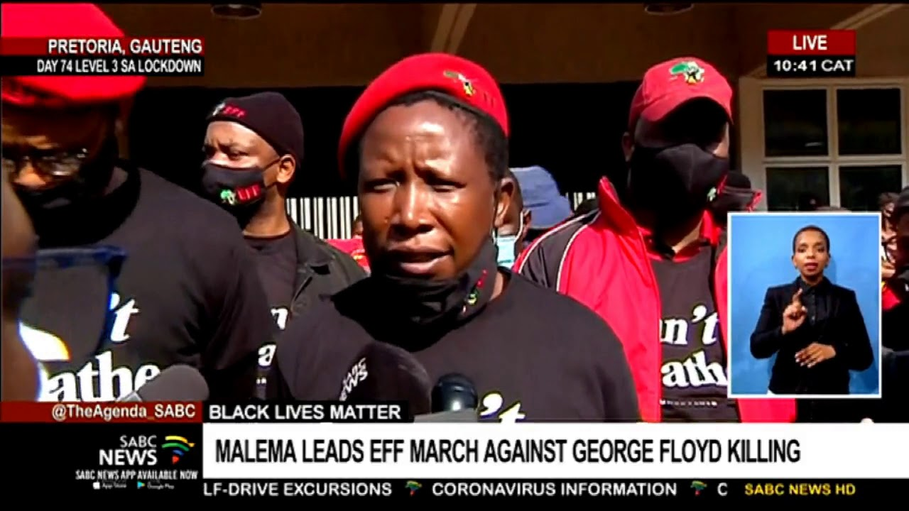 Black Lives Matter | Alcohol is delivered on time but essentials for schools are not: Malema
