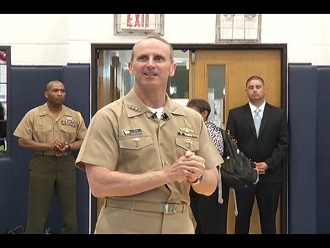 AFN Korea AFN Korea Update CNO Holds All Hands Call In Chinhae - Chinhae naval base