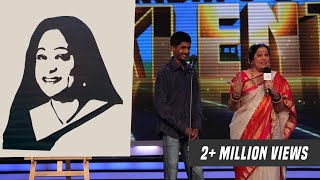 Rishikesh Potdar Speed Painting and Paper Cutting Artist from India's Got Talent Showreel