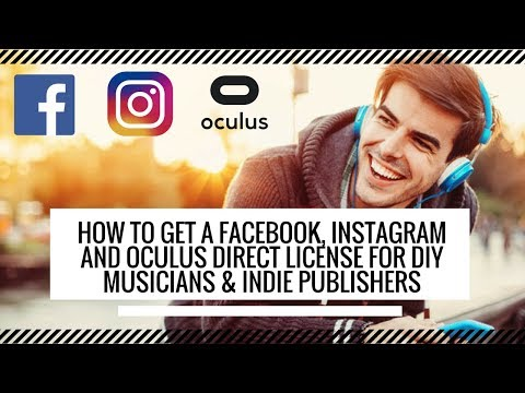 How to get paid for your songs on Facebook, Instagram, and Oculus