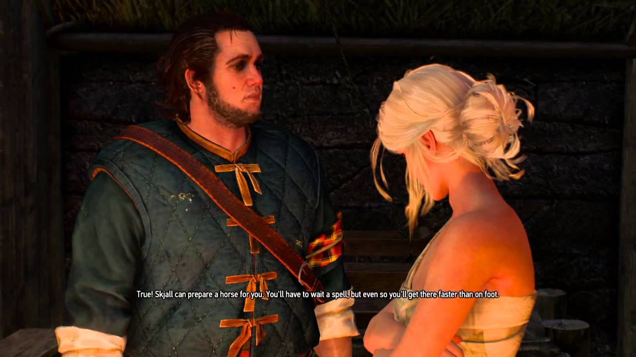Witcher 3 - Yennefer DLC outfit and Craven CINEMATICS