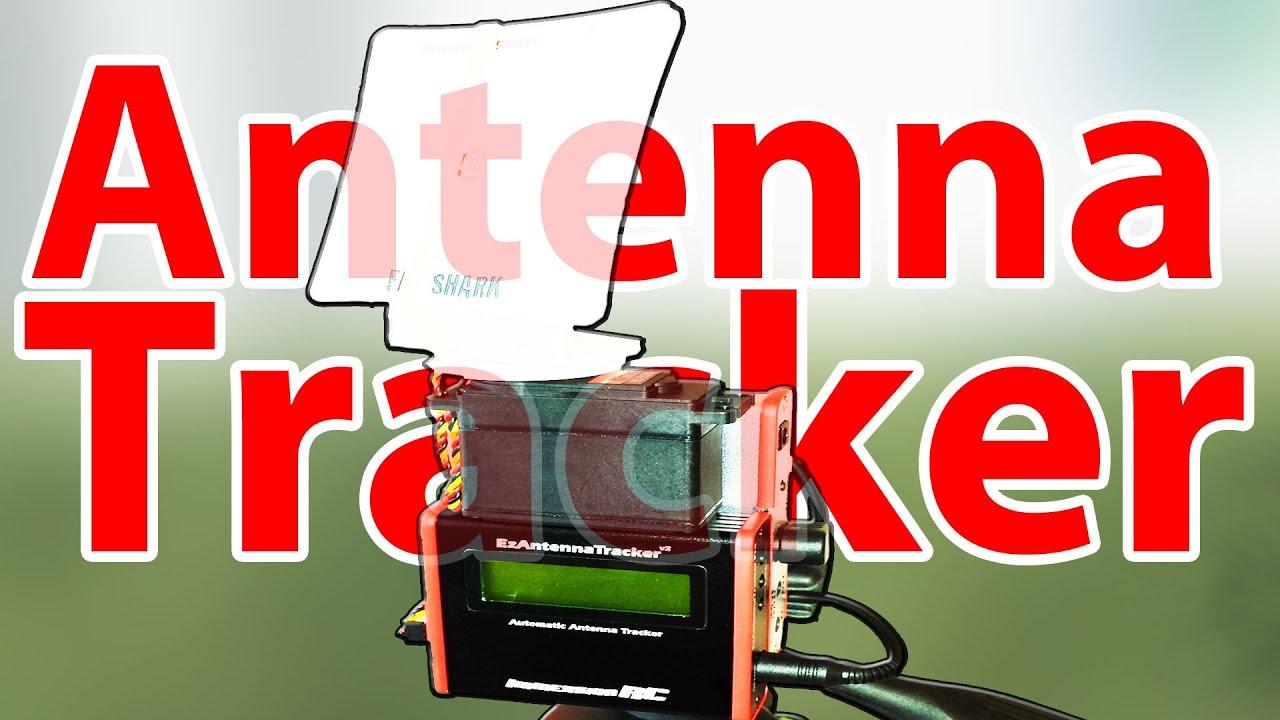 Easy Antenna tracker - review and fieldtesting (ImmersionRC  ezAntennatracker V2)