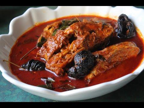 Kerala Fish Curry- Meen Mulakittathu Curry- മീൻ മുളകിട്ടത്