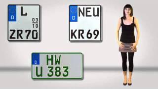 GUTSCHILD.de KFZ Kennzeichen Versand - amtliche Nummernschilder für die Zulassung online!