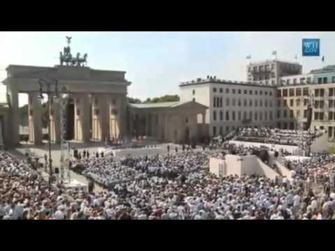 President Obama Speaks In Berlin- Full Speech