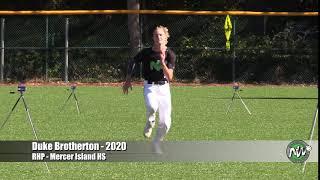 Duke Brotherton - PEC - 60 - Mercer Island HS (WA) - July 25, 2018