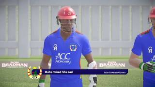 Asia Cup 2018 Super 4 - Pakistan V Afghanistan highlights | Don Bradman Cricket 17 Gameplay