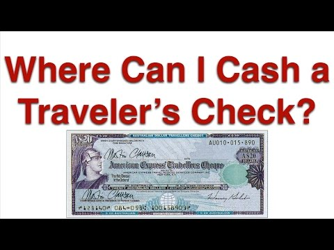Where Can I Cash a Travelers Check?