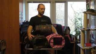 Недорогие сумки переноски для кошек М 21