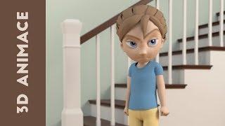 1. [Návod] Jak animovat míček ve 3D (CZ) ? Autodesk Maya