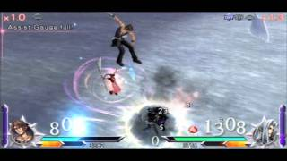 Dissidia 012: [duodecim] Final Fantasy -- Level 100 Squall/Aeris vs Level 100 Sephiroth/Kefka