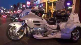 Memphis,Bikes on Beale Street