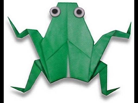 How To Make A 3d Origami Frog Rana Palaka