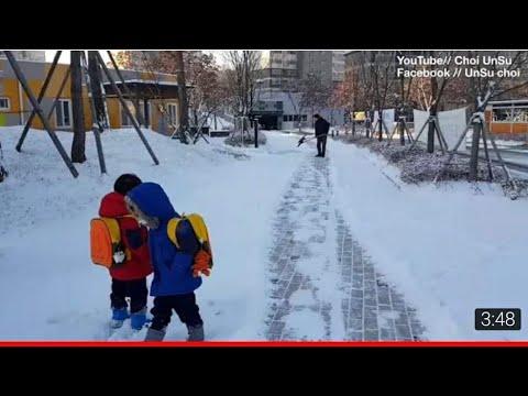 Mùa Đông Khắc Nhiệt Ở Hàn Quốc Cuộc Sống Hàn Quốc ( Choi UnSu )