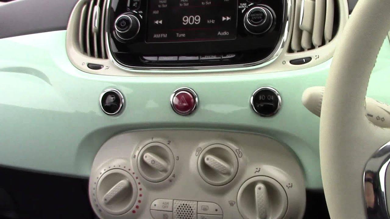 Fabuleux Wessex Garages | Fiat 500 Lounge Pre Reg | Smooth Mint | Penarth  NV73