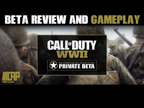 Call of Duty WWII Xbox One Beta Review and Gameplay