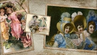 Старинные открытки.  Женская дружба(, 2014-03-21T16:52:22.000Z)