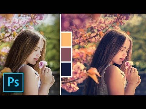 A Secret Auto Color Grading Feature In Photoshop!