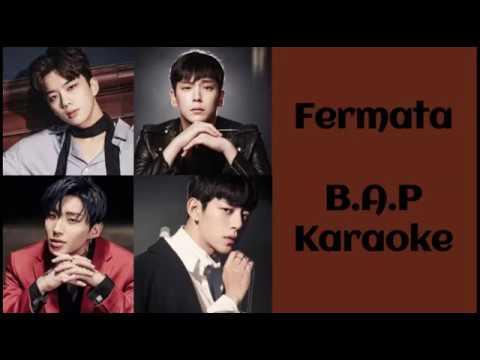 Fermata -  B.A.P Karaoke (Hangul/Romanization)