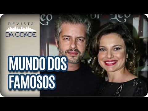 Victor Chaves, Fernanda Lima e Rodrigo Hilbert - Revista da Cidade (03/03/2017)