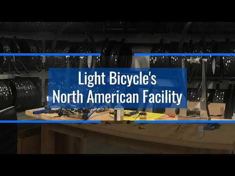 Explore Light Bicycle's North American Facility