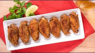 Fish Sauce Wings (3-Ingredient Recipe!) | Thai Recipes ปีกไก่ทอดนำ้ปลา